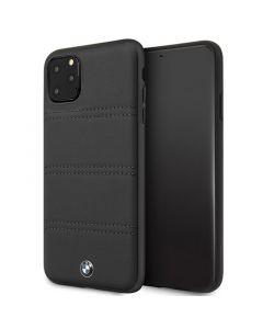 Husa iPhone 11 Pro Max BMW Signature Horizontal Lines Negru