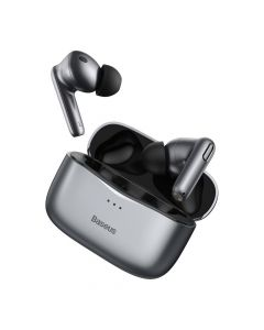 Casti TWS Wireless Baseus Simu S2 Bluetooth 5.0 Gray
