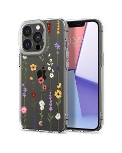 Husa iPhone 13 Pro Max Cyrill by Spigen Cecile Series Flower Garden