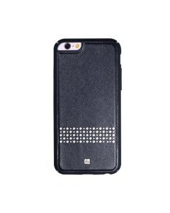 Carcasa iPhone 6/6S Just Must Carve V Black (protectie margine 360°)