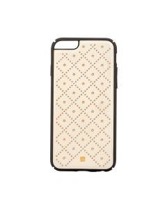 Carcasa iPhone 6/6S Just Must Carve VI Beige (protectie margine 360°)