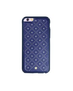 Carcasa iPhone 6/6S Just Must Carve VI Navy (protectie margine 360°)