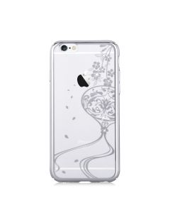Carcasa iPhone 6/6S Devia Crystal Secret Garden Crystal Secret Garden Silver (Cristale Swarovski®, e