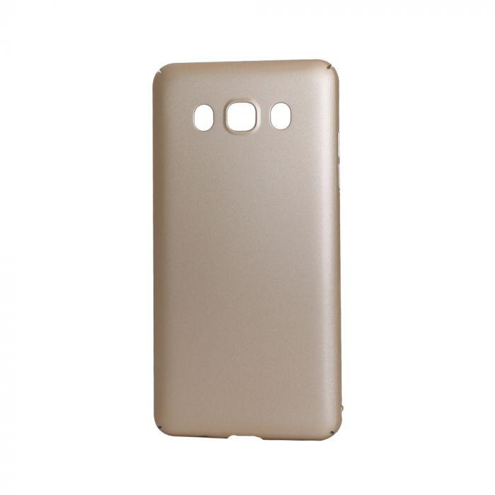 Carcasa Samsung Galaxy J5 (2016) Lemontti Hard Rubber Slim Auriu