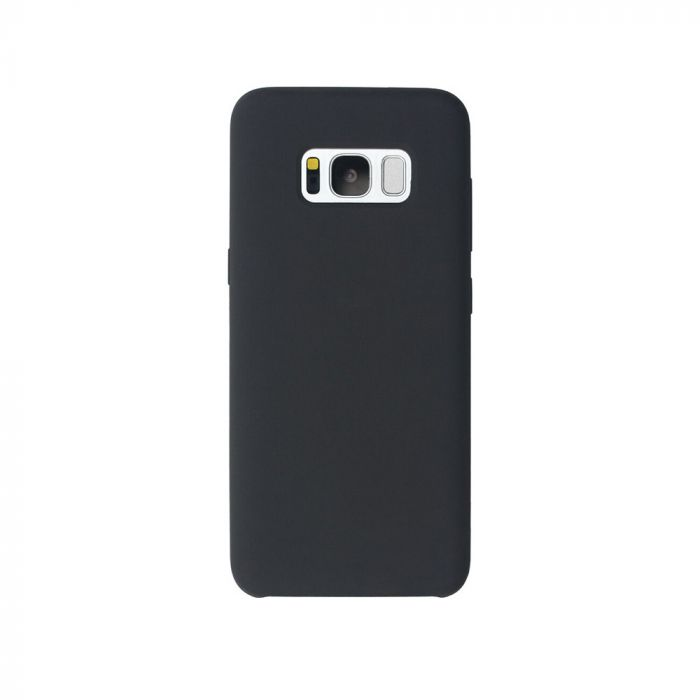 Carcasa Samsung Galaxy S8 Plus G955 Just Must Liquid Silicone Black