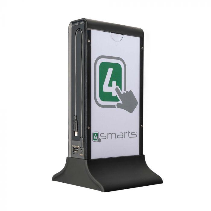 Acumulator extern 4smarts Bartender Black 20700 mAh (2x USB, cablu MicroUSB integrat, cablu Lightnin