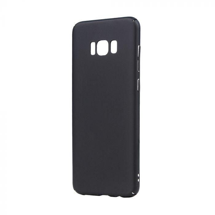 Carcasa Samsung Galaxy S8 Plus G955 Lemontti Hard Rubber Slim Negru