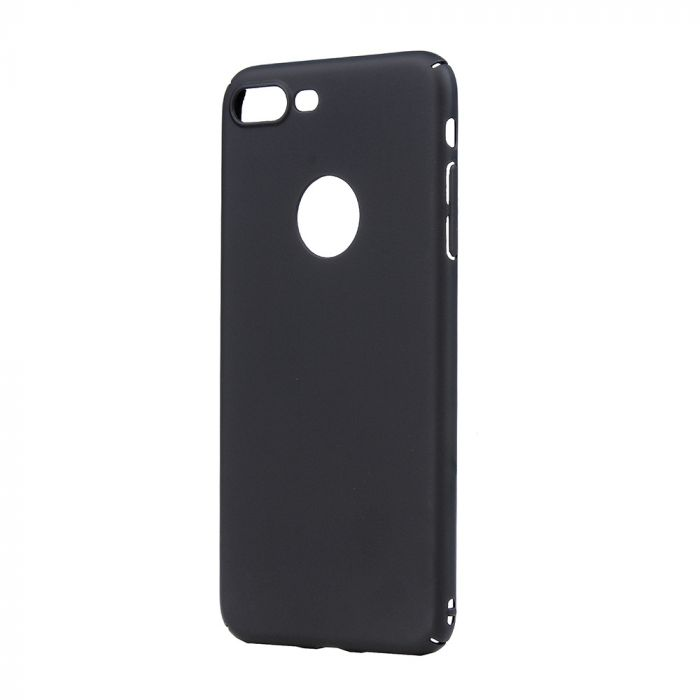 Carcasa iPhone 7 Plus Lemontti Hard Rubber Slim Negru
