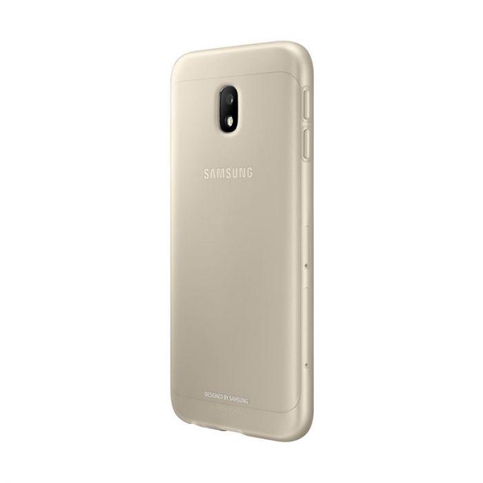 Carcasa Samsung Galaxy J3 (2017) Samsung Jelly Cover Gold