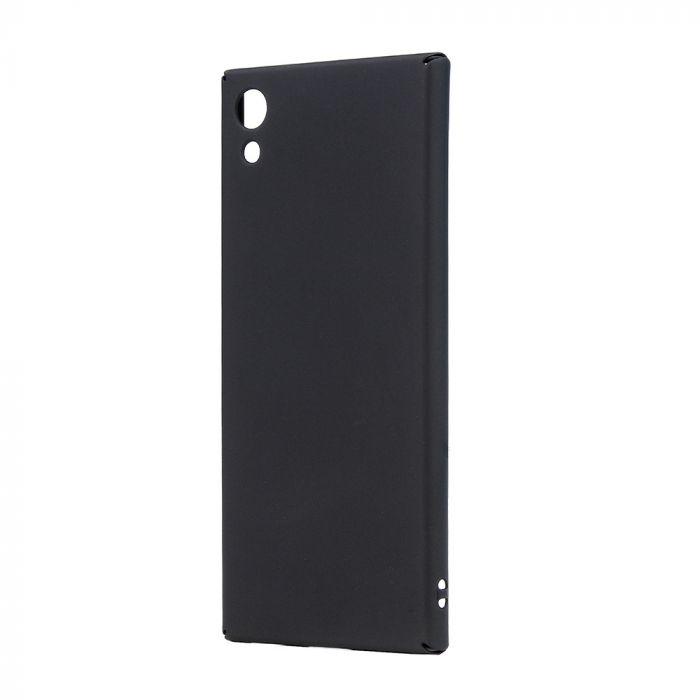 Carcasa Sony Xperia XA1 Lemontti Hard Rubber Slim Negru