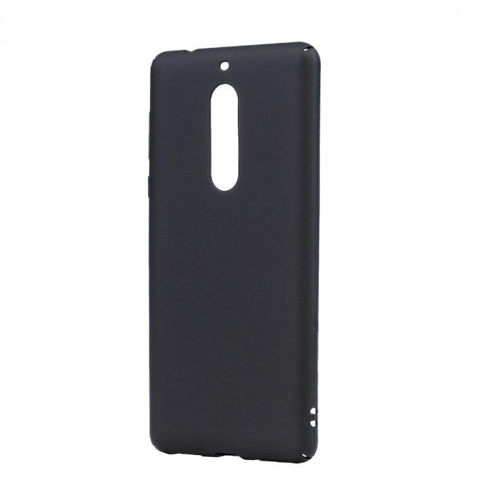 Carcasa Nokia 5 Lemontti Hard Rubber Slim Negru