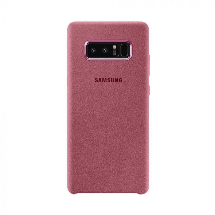 Carcasa Samsung Galaxy Note 8 Samsung Alcantara Cover Pink