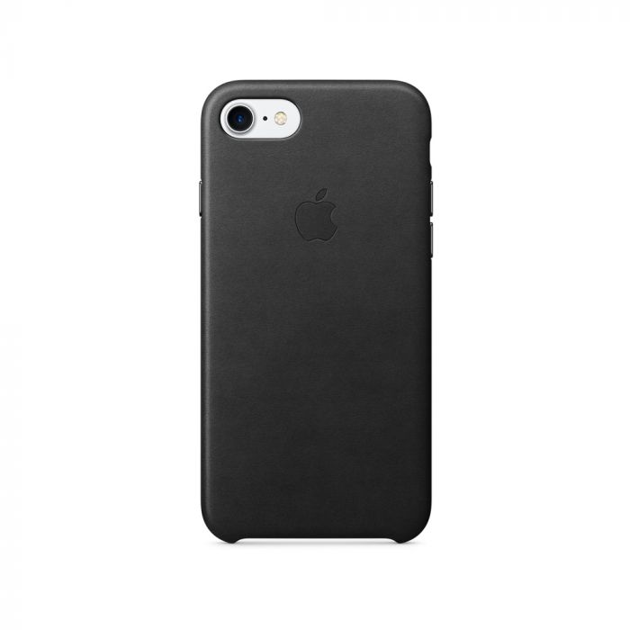Carcasa iPhone 8 / 7 Apple Leather Black (piele naturala)