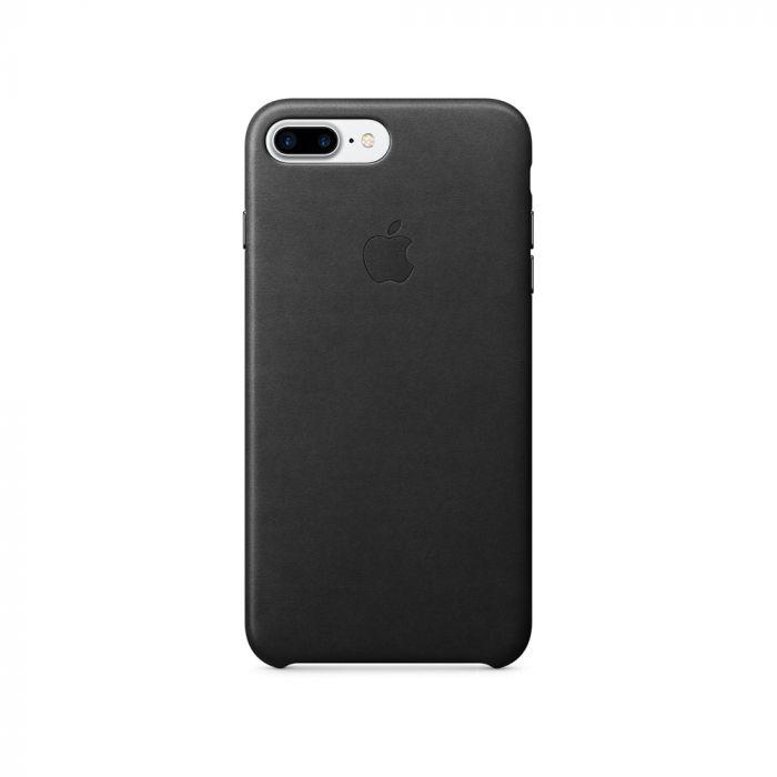 Carcasa iPhone 8 Plus / 7 Plus Apple Leather Black (piele naturala)