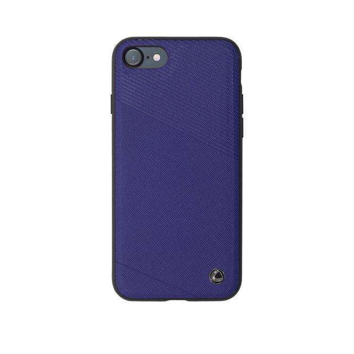 Carcasa iPhone 8 / 7 Occa Exquis Car Navy (margini flexibile, placuta metalica integrata)