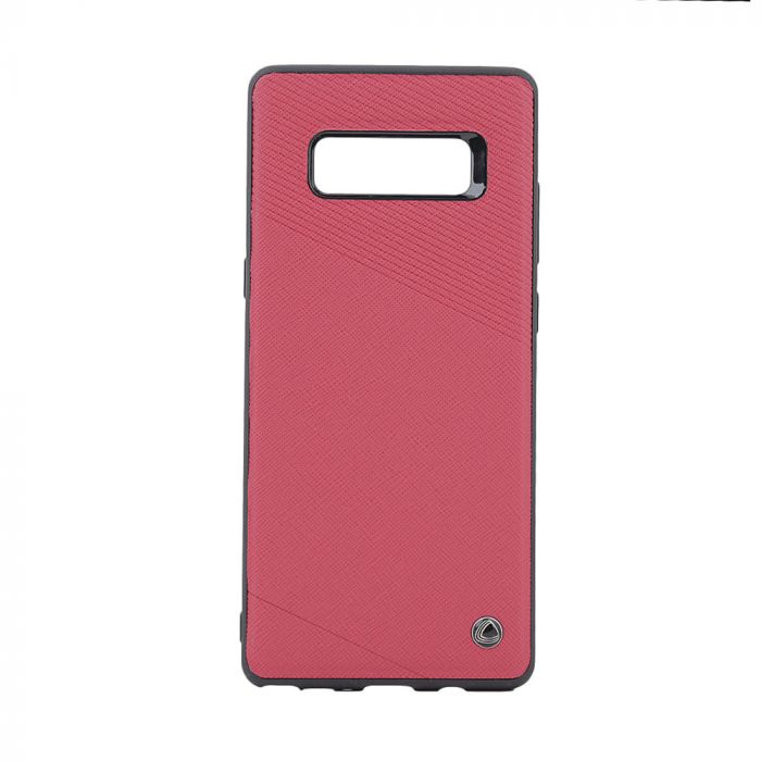 Carcasa Samsung Galaxy Note 8 Occa Exquis Car Red (margini flexibile, placuta metalica integrata)