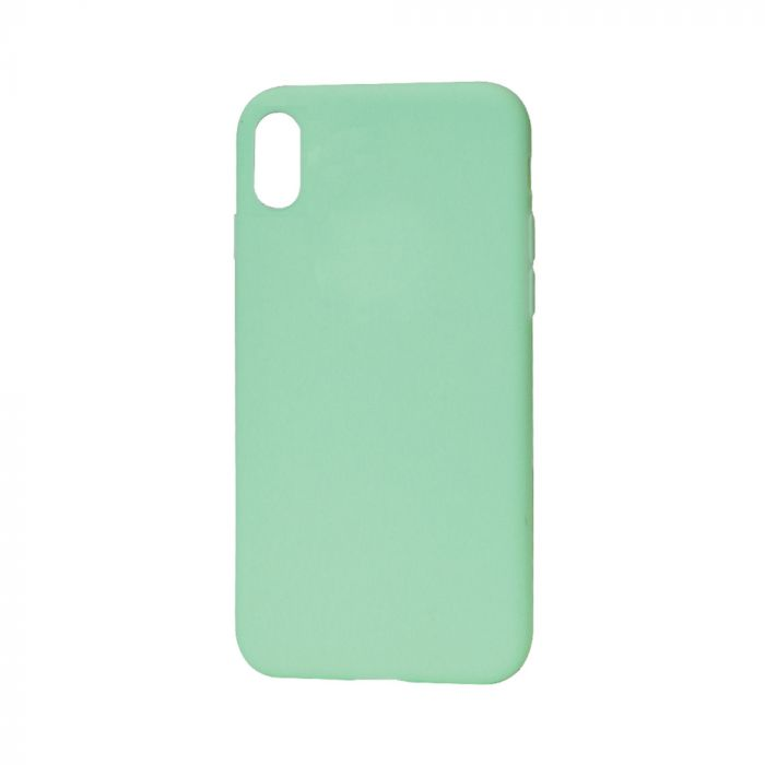 Husa iPhone X / XS Just Must Silicon Candy Green