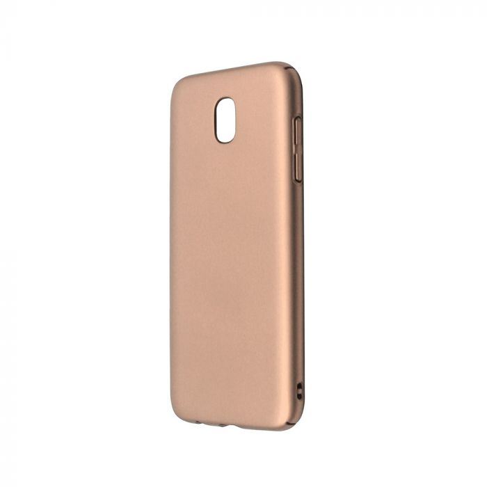 Carcasa Samsung Galaxy J5 (2017) Just Must Uvo Gold (material fin la atingere, slim fit)