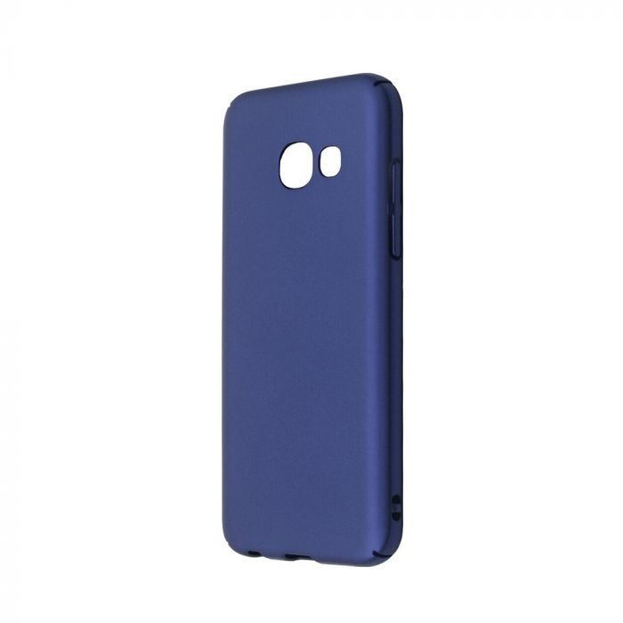 Carcasa Samsung Galaxy A3 (2017) Just Must Uvo Navy (material fin la atingere, slim fit)