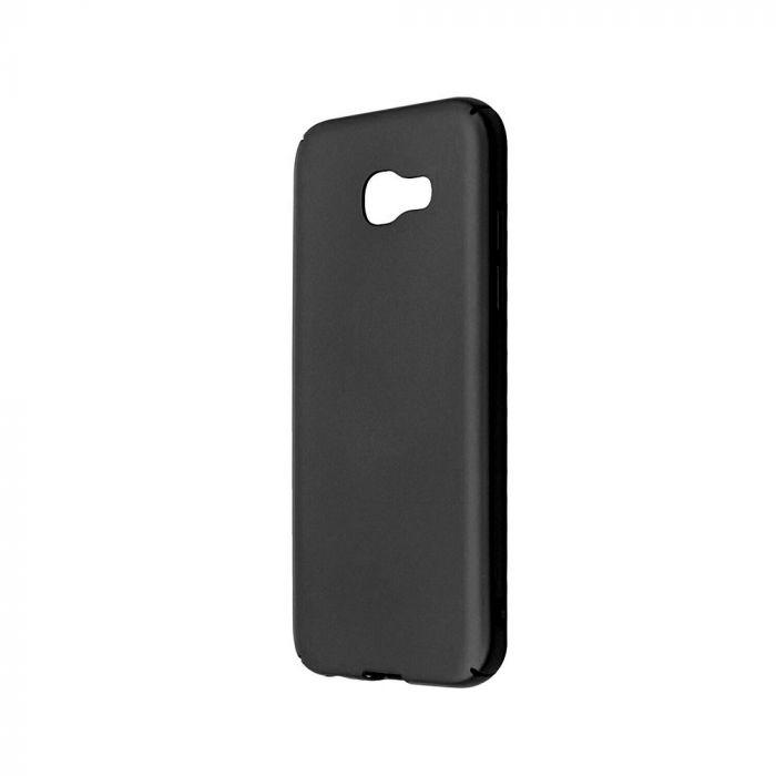 Carcasa Samsung Galaxy A5 (2017) Just Must Uvo Black (material fin la atingere, slim fit)