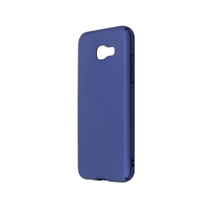 Carcasa Samsung Galaxy A5 (2017) Just Must Uvo Navy (material fin la atingere, slim fit)
