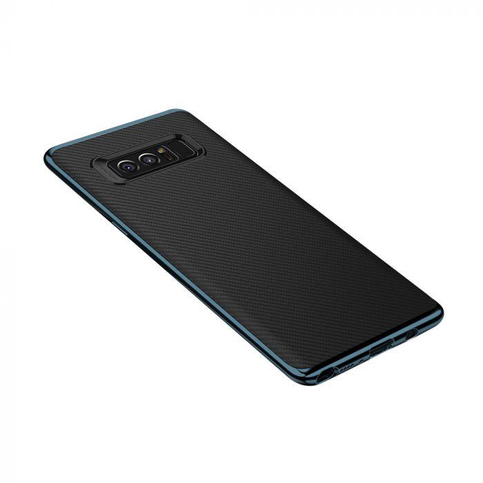 Carcasa Samsung Galaxy Note 8 Just Must Arm Duo Gray (spate textura carbon negru)