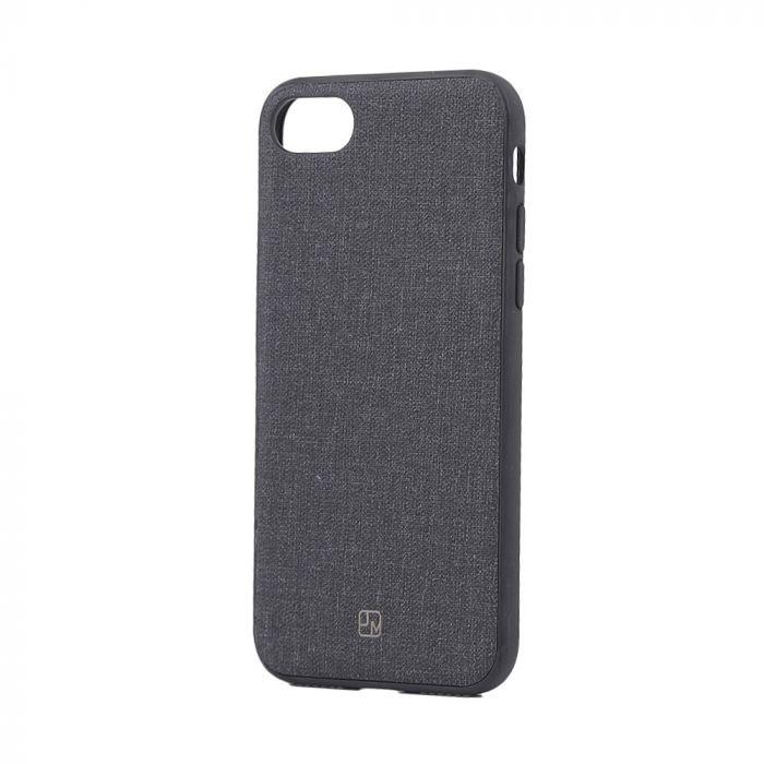 Carcasa iPhone 8 / 7 Just Must Empire Black (margini flexibile)