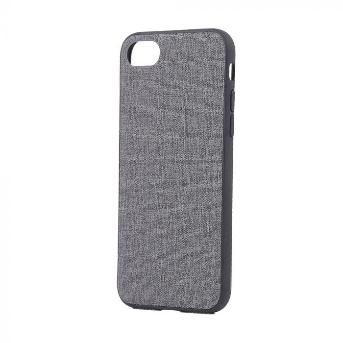 Carcasa iPhone 8 / 7 Just Must Empire Gray (margini flexibile)
