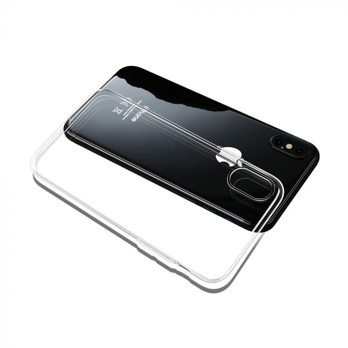 Carcasa iPhone X / XS Mcdodo Crystal Soft Slim Jacket Clear