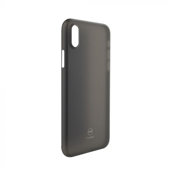 Carcasa iPhone X / XS Mcdodo Ultra Slim Air Clear Black (0.3mm)