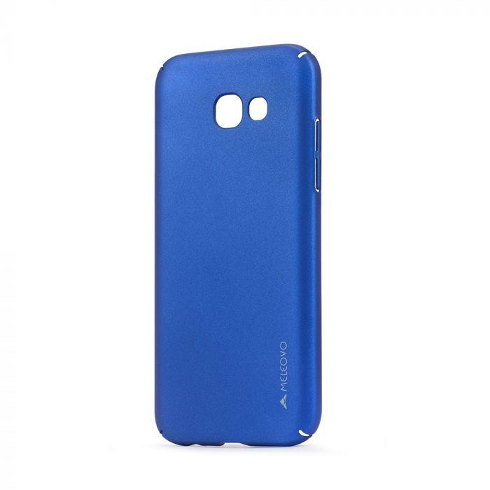 Carcasa Samsung Galaxy A5 (2017) Meleovo Metallic Slim 360 Blue (culoare metalizata fina)