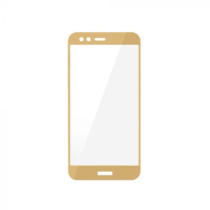 Folie Huawei P10 Lite Magic Sticla 3D Full Cover Gold (0.33mm, 9H)