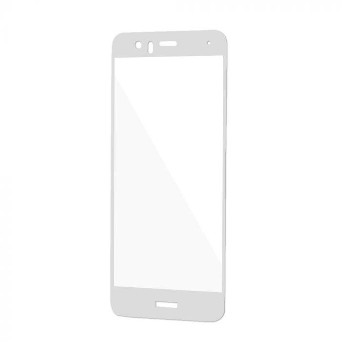 Folie Huawei P10 Magic Sticla 3D Full Cover White (0.33mm, 9H)