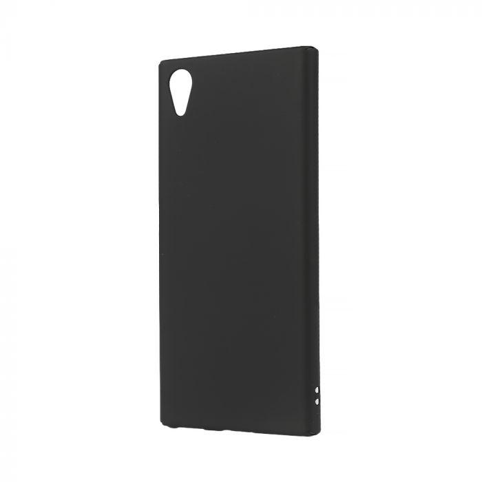 Carcasa Sony Xperia XA1 Plus Lemontti Hard Rubber Slim Negru