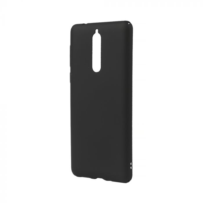 Carcasa Nokia 8 Lemontti Hard Rubber Slim Negru