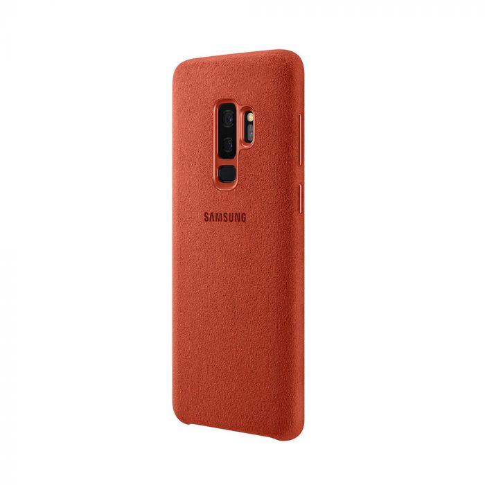 Carcasa Samsung Galaxy S9 Plus G965 Samsung Alcantara Cover Red