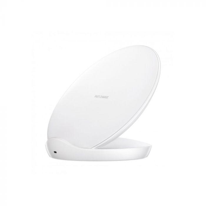 Stand incarcare Samsung Galaxy S9 G960 / S9 Plus G965 Samsung QI Wireless White (TA)