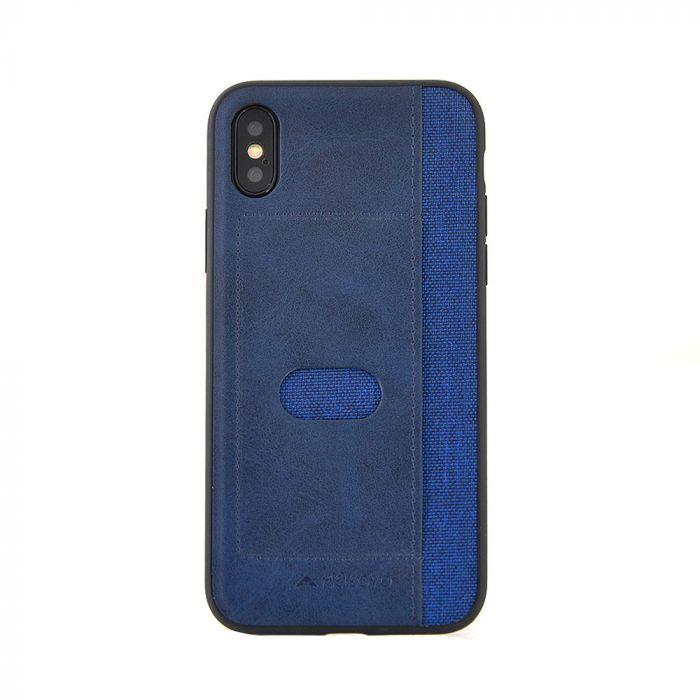 Carcasa iPhone X Meleovo Vintage Blue