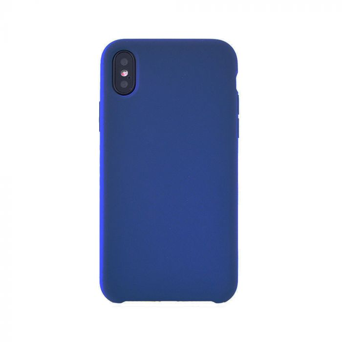 Carcasa iPhone X / XS Meleovo Silicone Gear Navy