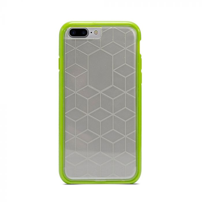 Carcasa iPhone 8 Plus / 7 Plus / 6 Plus Impact Gel Crusader Series Clear-Green (Xtreme Armour)