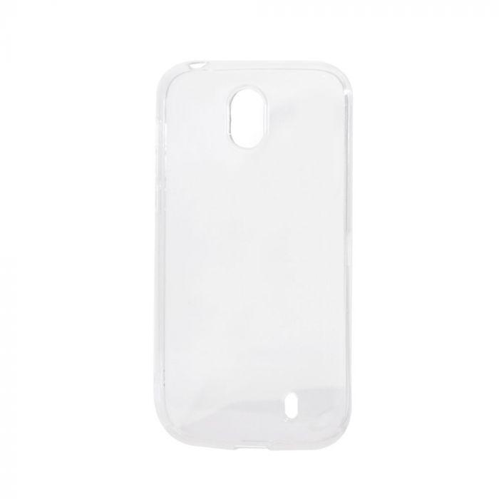 Husa Nokia 1 Lemontti Silicon Transparent