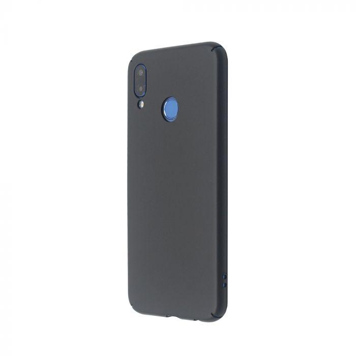 Carcasa Huawei P20 Lite Just Must Uvo Black (material fin la atingere, slim fit)