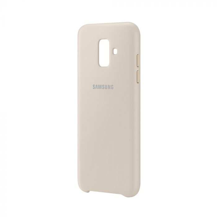 Carcasa Samsung Galaxy A6 (2018) Samsung Dual Layer Cover Gold