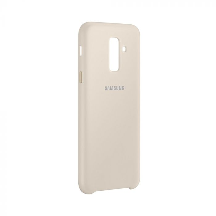 Carcasa Samsung Galaxy A6 Plus (2018) Samsung Dual Layer Cover Gold