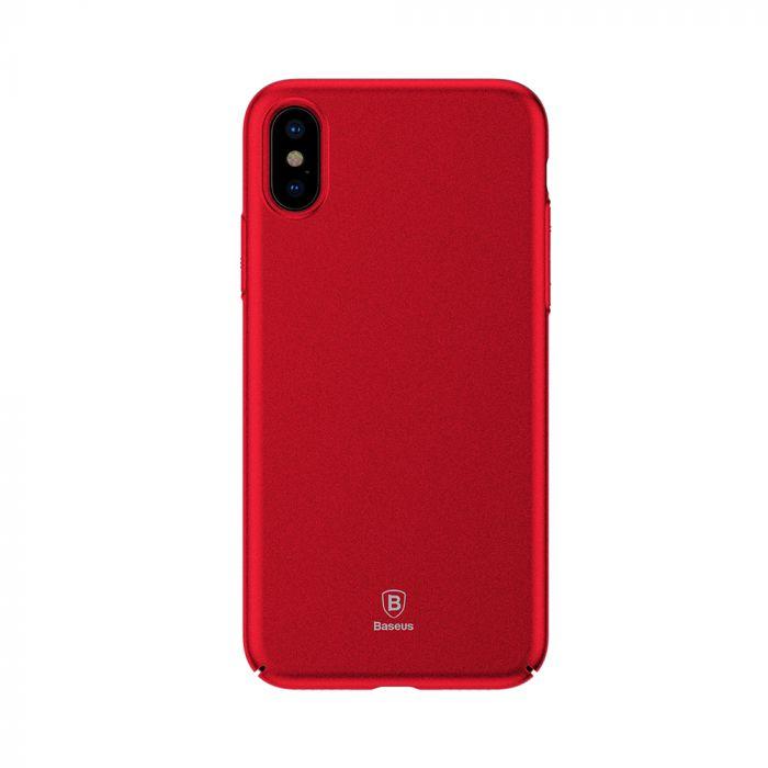 Carcasa iPhone X Baseus Meteorite Red