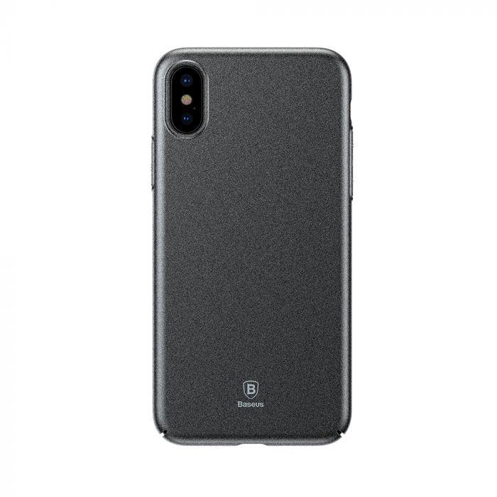 Carcasa iPhone X Baseus Meteorite Gray