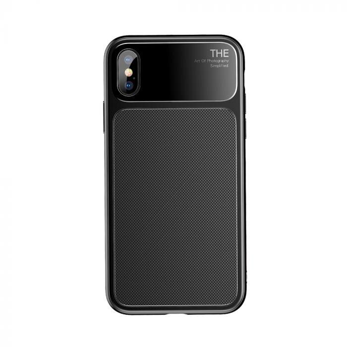 Carcasa iPhone X Baseus Knight Black