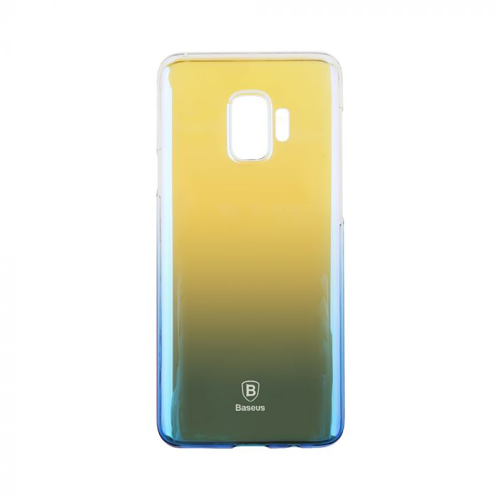 Carcasa Samsung Galaxy S9 G960 Baseus Glaze Transparent Blue