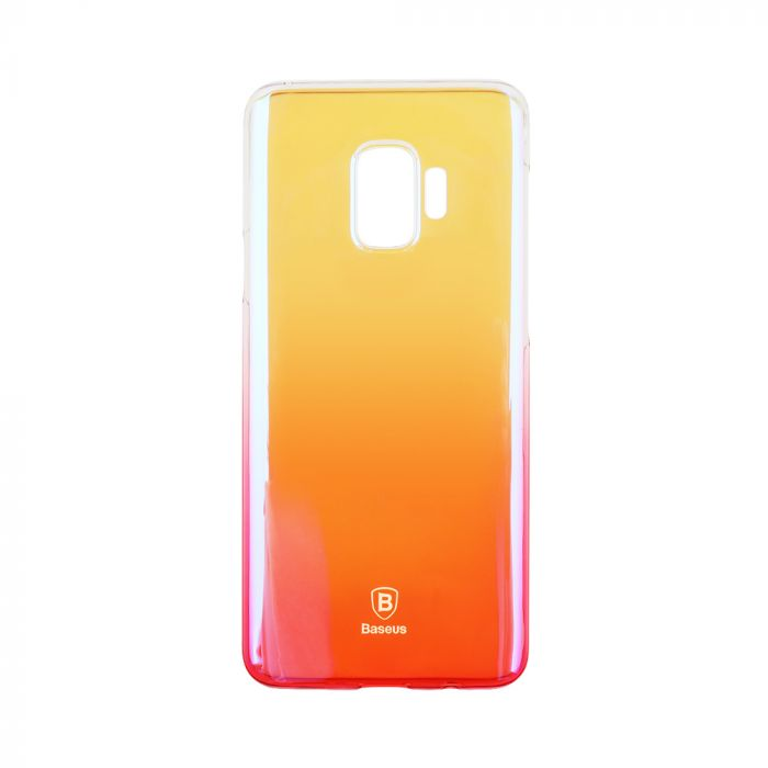 Carcasa Samsung Galaxy S9 G960 Baseus Glaze Transparent Pink
