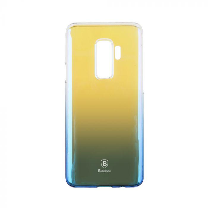 Carcasa Samsung Galaxy S9 Plus G965 Baseus Glaze Transparent Blue